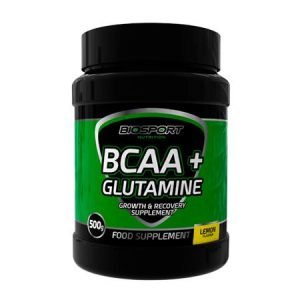 BCAA + GLUTAMINE – 500gr